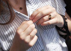 Anillo Round Gold modelo