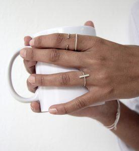 Anillo Stick Silver