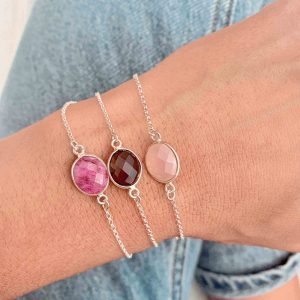PULSERA OVAL SILVER_DROP COLLECTION